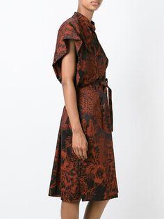 Vivienne Westwood Red Label платье-кимоно с цветочным принтом