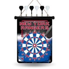 New York Rangers NHL Magnetic Dart Board