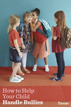 Ditch the drama from day #1 this school year. Watch how to help your child deal with bullies and mean kids in her class.