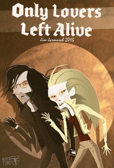 'Adam & Eve 's Only Lovers Left Alive Poster by Rafa Toro