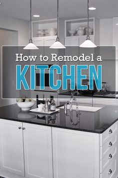 A simple 6-step guide to DIY kitchen remodeling. #homeimprovement #DIY #Kitchen #remodel #kitchenrenovation Shag Carpet, Kitchen Remodeling, Step Guide, Diy Kitchen, Home Renovation, Home Improvement, Simple, Home Decor, Country Open Plan Kitchens