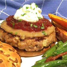 Thanksgiving Flavored Turkey Burgers Recipe