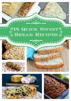 18 incredible sweet quick bread recipes that you need to try!