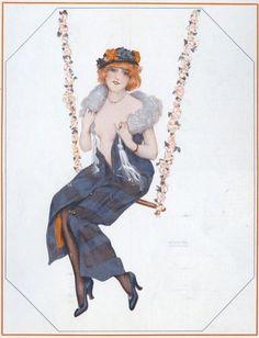 La Vie Parisienne 1916 ~ Raphael Kirchner