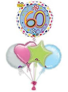 """Send birthday balloons to cerebrate the birthday. birthday balloons """"Dots"""" are the ideal gift to mark the big day. Send birthday balloons in a box by free balloon delivery to guarantee a great big smile!"""