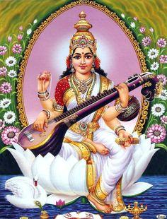 hindu gods and goddesses ganesha gif 10 gif images Saraswati Photo, Saraswati Mata, Saraswati Goddess, Saraswati Vandana, Durga Maa, Shiva Shakti, Durga Images, Lakshmi Images, Maa Wallpaper