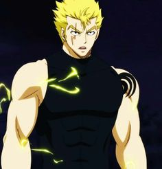 Laxus Dreyar from Fairy Tail- I may or may not have a huge crush on him....