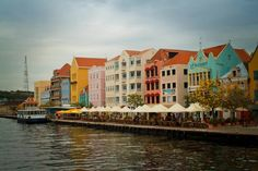 Willemstad, Curacao The Easter egg-colored and red-roofed homes and businesses that lie along the harbor are a UNESCO World Heritage Site.