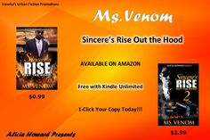 """""""Sincere's Rise Out the Hood"""" series by Ms Venom Promotional Flyers, Venom, Flyer Design, Ms, Fiction, Movie Posters, Film Poster, Billboard, Film Posters"""