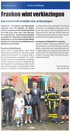 Voor Weekblad De Brug schrijf ik artikelen in de rubrieken Mens & Maatschappij en Lokaal, zoals dit artikel over het zomerjeugdprogramma Bouwstad.