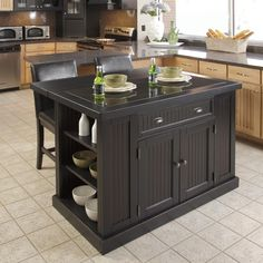 Shop Home Styles Nantucket Kitchen Island and Two Stools at The Mine. Browse our kitchen islands & carts, all with free shipping and best price guaranteed.