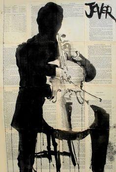 "Saatchi Art Artist Loui Jover; Drawing, ""the player (SOLD)"" #art"