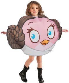 Lasten Naamiaisasu; Angry Birds Star Wars Leia Lisensoitu Angry Birds Star Wars Leia asu standardikokoisena. Olkoon voima kanssasi. #naamiaismaailma