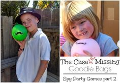 spy party games part 2 -- the case of the missing goodie bag