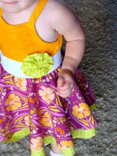 Layered twirly dress tutorial (circle skirt) by DesignedbyDawnNicole