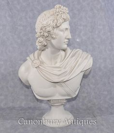 This item is unavailable She Is Gorgeous, Looking Gorgeous, Apollo Greek, Marble Bust, Classical Antiquity, Classic Italian, Greek Gods, Close Up Photos, Character Inspiration