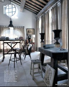 French Country home in Provence France featured in Maison Cote Sud decor magazine on of the 15 international publications I subscribe to.