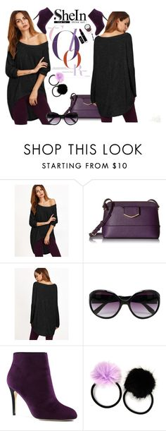 """""""SheIn Color"""" by dollz-n-donz ❤ liked on Polyvore featuring Calvin Klein, M&Co, Lands' End and Carole"""