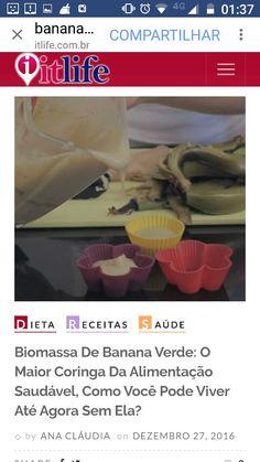Ela tem baixo índice glicêmico, promove saciedade, ajuda na perda de peso, no bom funcionamento do intestino, dá pique e energia. O que mais você precisa saber para se apaixonar pela biomassa de banana verde? http://itlife.com.br/portal/biomassa-de-banana-verde-o-maior-coringa-da-alimentacao-saudavel-como-voce-pode-viver-ate-agora-sem-ela/