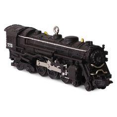773 Hudson Steam Locomotive LIONEL® Trains Ornament