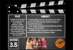 Movie review: #Aedilhaimushkil #MovieReview #Bollywood #Entertainment #CityShorAhmedabad