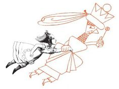 Alice Through the Looking Glass - Inky Parrot Press. Illustration: Franciszka Themerson