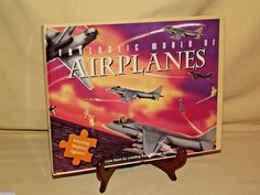 AIRPLANE PUZZLE 24 PC FANTASTIC WORLD 2005 RUMC (HK) ROBERT FREDERICK LTD NEW #RUMCHKLtd