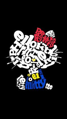 Hello Kitty letter art (^O^☆♪