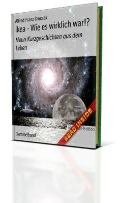 """Cover E-Book: """"Ikea-wie es wirklich war!? Neun Kurzgeschichten aus dem Leben!"""""""