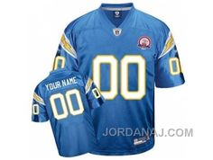 http://www.jordanaj.com/customized-san-diego-chargers-jersey-baby-blue-with-afl-50th-anniversary-patch.html CUSTOMIZED SAN DIEGO CHARGERS JERSEY BABY BLUE WITH AFL 50TH ANNIVERSARY PATCH Only $60.00 , Free Shipping!