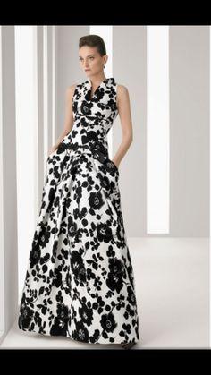 Black and white dress Vestido negro y blanco by Tropical Vogue Lovely Dresses, Elegant Dresses, Beautiful Outfits, Evening Dresses, Prom Dresses, Formal Dresses, Vetement Fashion, Mode Inspiration, Dream Dress