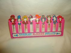 VINTAGE YARDLEY SLICKER DOLLYS LIPSTICK W/ ORIG. BOX RARE
