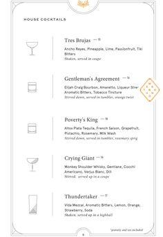 Eatery & bar with train-style booths, swank travel-inspired drinks & a playful small plates menu. Wedding Menu, Wedding Foods, Wedding Catering, Wedding Ideas, Bar Menu, Menu Restaurant, Free Menu Maker, Menu Creator, Menu Template