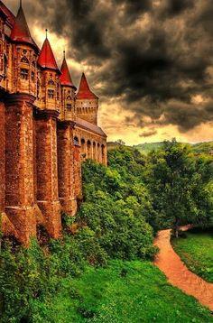 Hunyad castle Transylvania, Romania