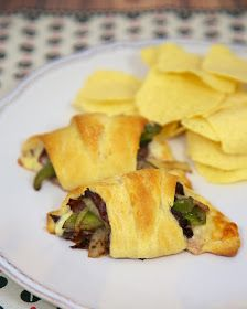 Plain Chicken: Philly Cheesesteak Crescents