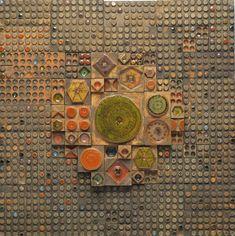 Keramiikkataiteilija Rut Bryk on aina ajankohtainen Ceramic Wall Art, Mosaic Wall Art, Ceramic Clay, Tile Art, Ceramic Artists, Wall Sculptures, Public Art, Installation Art, Pottery Art