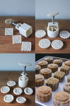 how to make snow skin mooncake video
