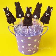Super Easy Bunny Pops - Foodista.com