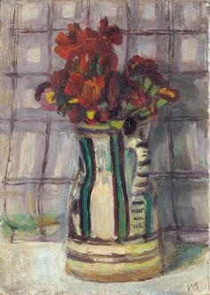 Vanessa Bell. Wallflowers, undated. Oil on canvas, 35.6 x 25.4 cm. Private collection. © The Estate of Vanessa Bell, courtesy of Henrietta Garnett.