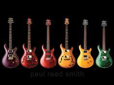 PRS guitars...so pretty.