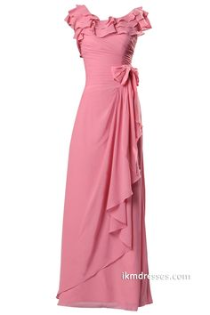 http://www.ikmdresses.com/2015-Women-Floor-length-Bridesmaid-dress-with-Ruffles-p88076