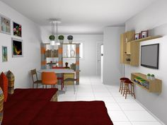 On Pinterest Small Apartments Studio Apartments And Small Spaces