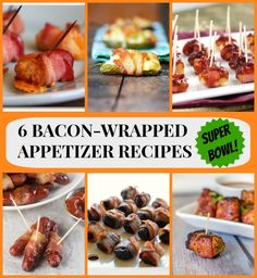 6 Bacon-Wrapped Appetizer Recipes for Super Bowl