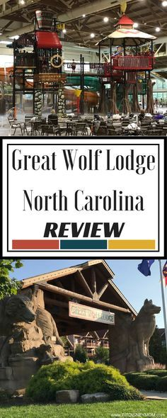 Great Wolf Lodge Review - Great Wolf North Carolina. Complete review from a family travel blogger, including photos of the entire resort.