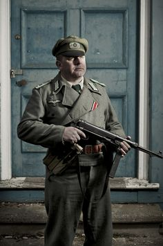 WW2 Living History portraits by Russell Cobb, via Behance