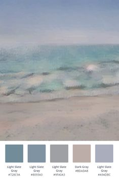 Abstract Blush Pink And Teal Beach Waves Printable Wall Art Paint Color Schemes, House Color Schemes, Bedroom Color Schemes, Bedroom Colors, House Colors, Beach Color Palettes, Grey Palette, Theme Color, Color Palate