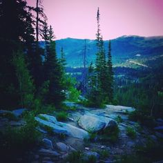 Trail to Lake Mary,  Brighton, UT ♡
