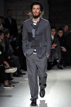 Junya Watanabe | Fall 2013 Menswear Collection | Style.com