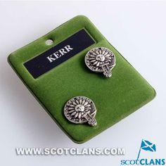 Kerr Clan Crest Pewt
