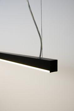 NINZA   DARK #lighting #suspended #ninza #led #profile #new #darling #design…